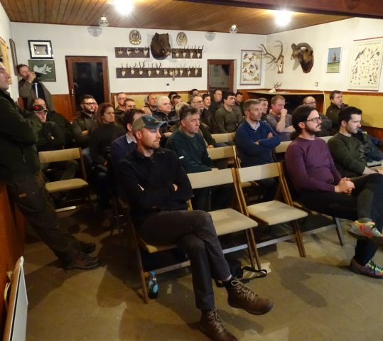 First official meeting with hunters in Slovenia