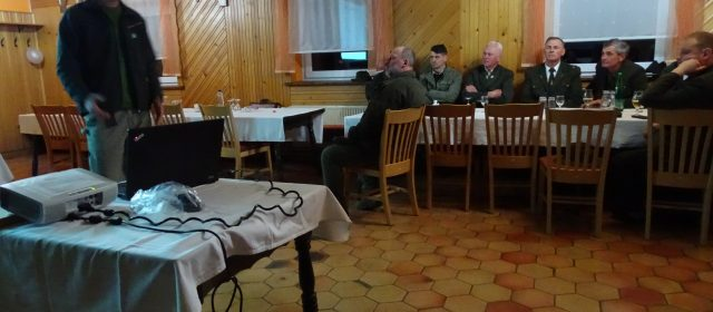 Presentation for hunters from Kočevska region