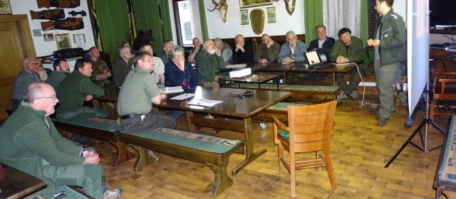 Meeting with hunters from Borovnica