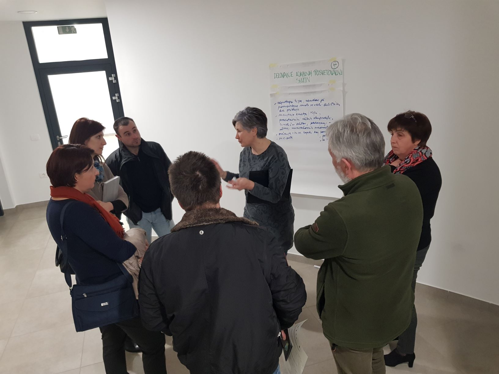 Local consultative group meeting with Pivka, Postojna and
