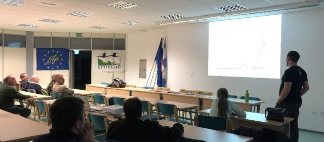 Presentations of the LIFE Lynx project for hunters