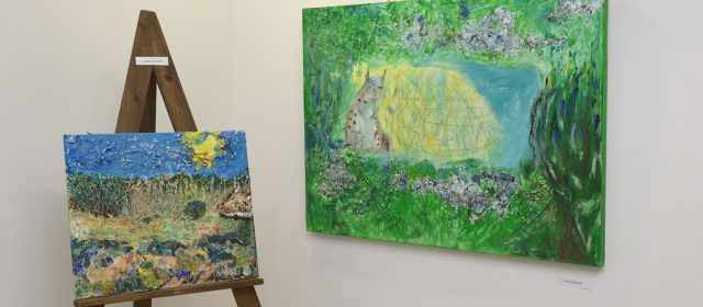 The opening of the art exhibition »Let's save the Lynx« in Loški Potok