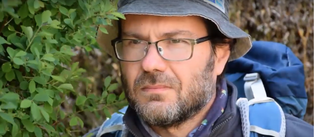 Wildlife researcher in the time of the quarantine